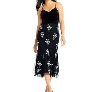 NWT Adriana Papell Midi Dress